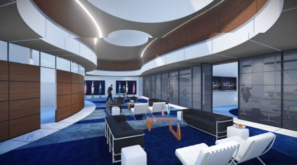New diplomatic suite