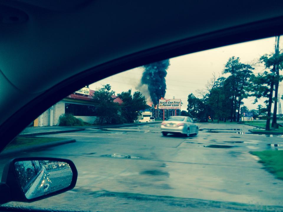 ... apartment fire in Atascocita at the Sunrise of Atascocita apartments