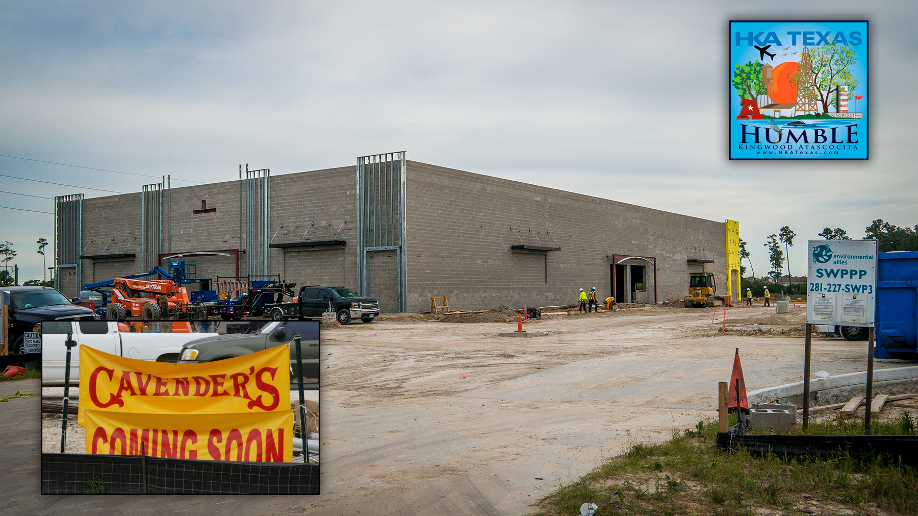 A New Larger Cavender S Is Being Built In Humble Texas