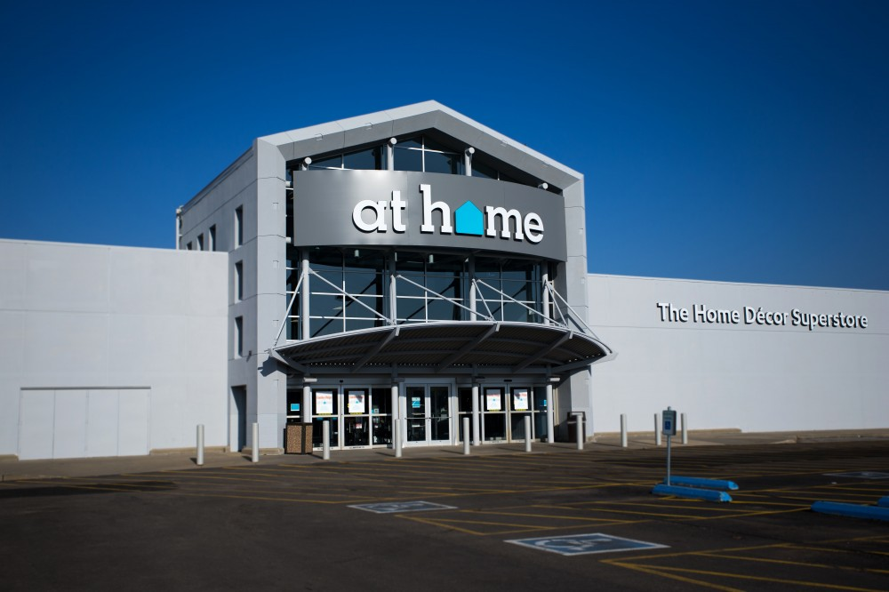 Garden ridge invests 20 million to rebrand stores to at home to better reflect company 39 s home - Garden decor stores ...
