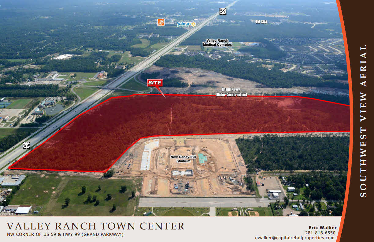 groundbreaking of valley ranch town center the largest retail an error occurred