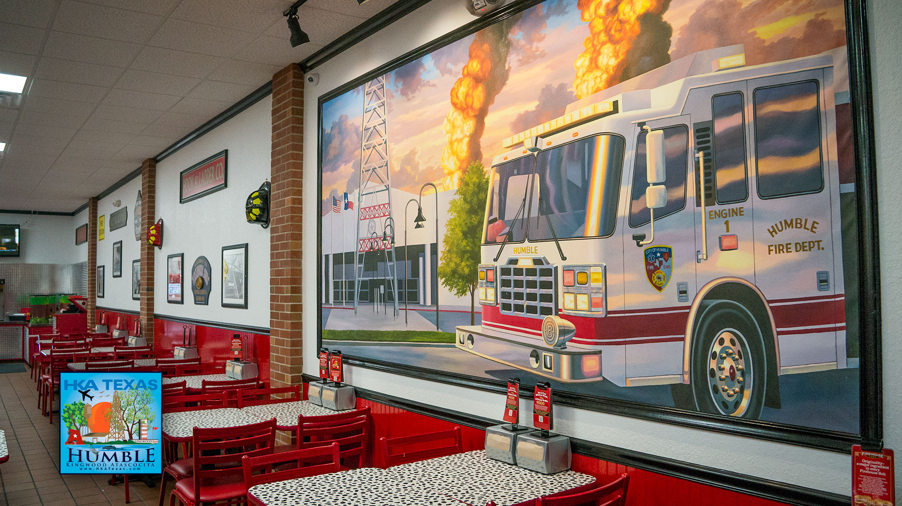 Firehouse subs in Humble is NOW OPEN - Grand Opening event scheduled for July 12th