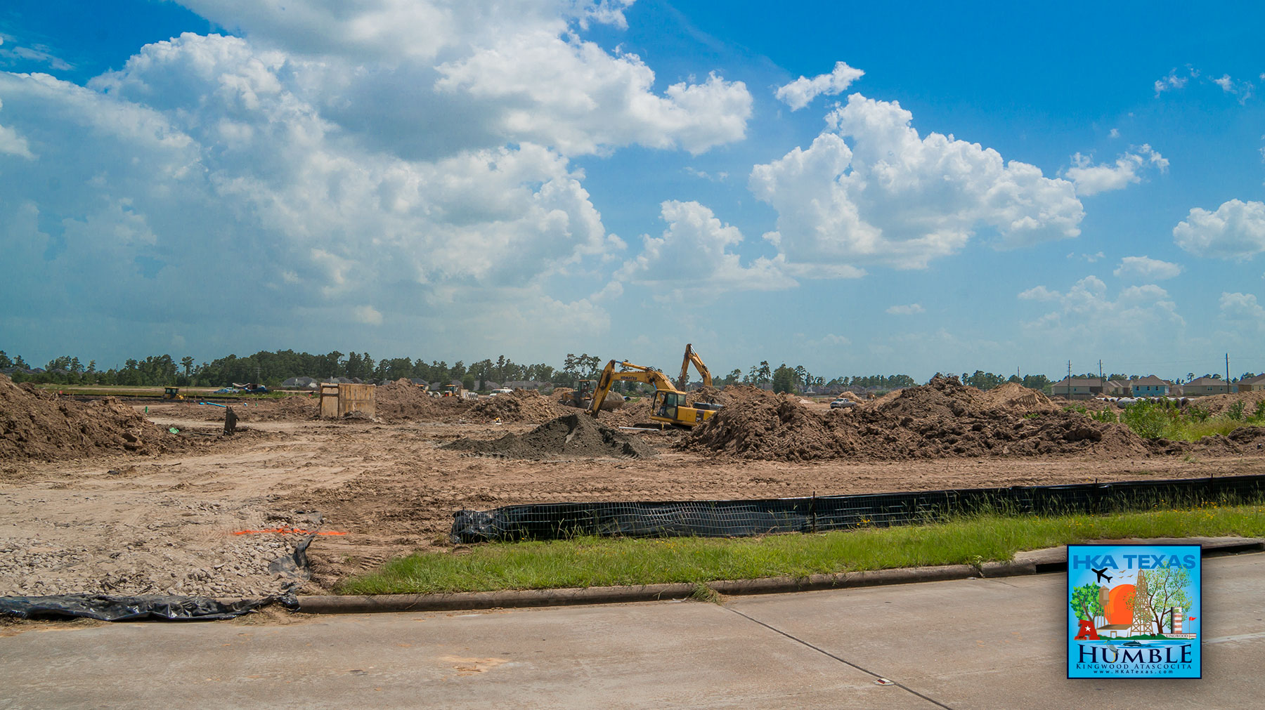 walmart neighborhood market to open in atascocita hka texas construction site photos