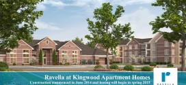 Project rendering of Ravella at Kingwood development on 494 near Northpark