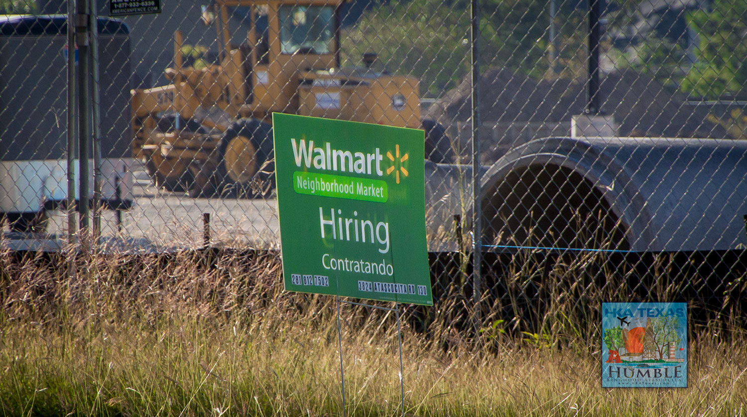 atascocita s new walmart neighborhood market one step closer previous photos