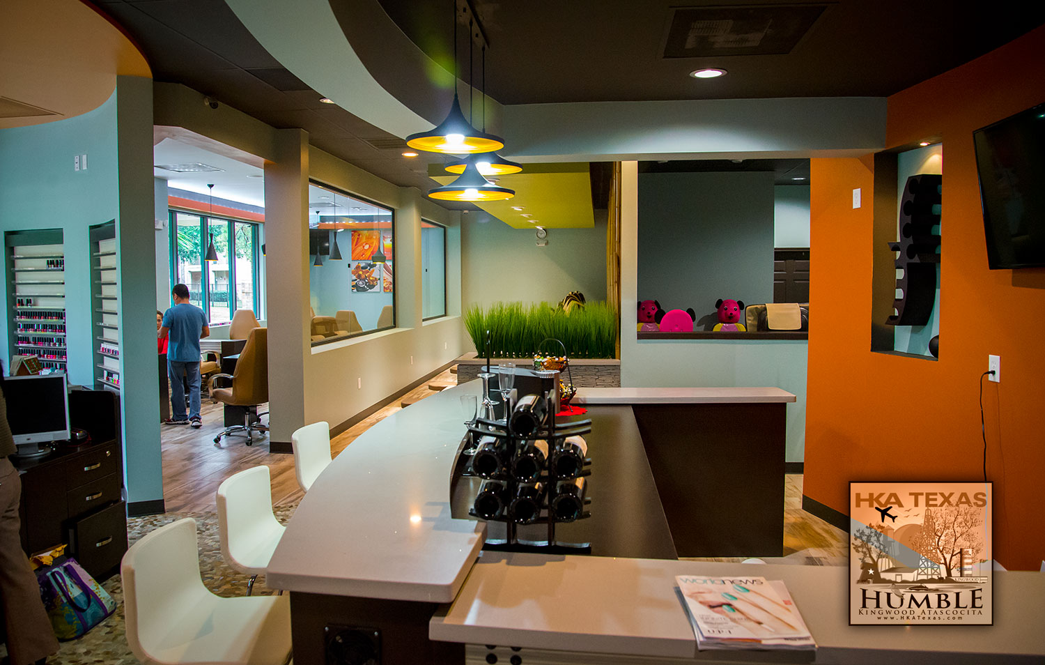 Vip nails spa expands opens second location in kingwood for Nail salon winter garden village