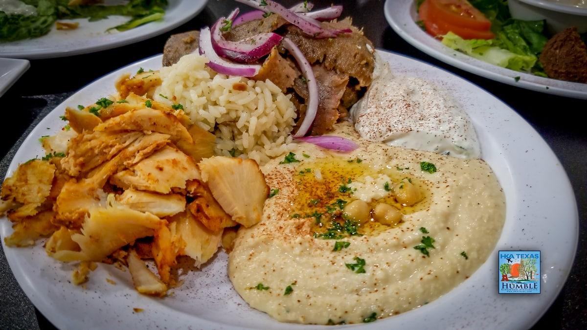 Combo Chick and Gyro Shawarma