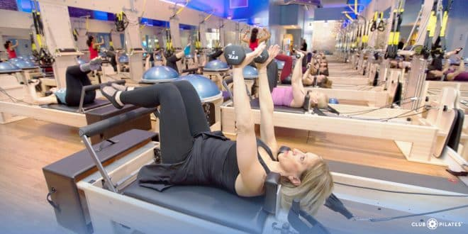 Club Pilates Kingwood Cardio class