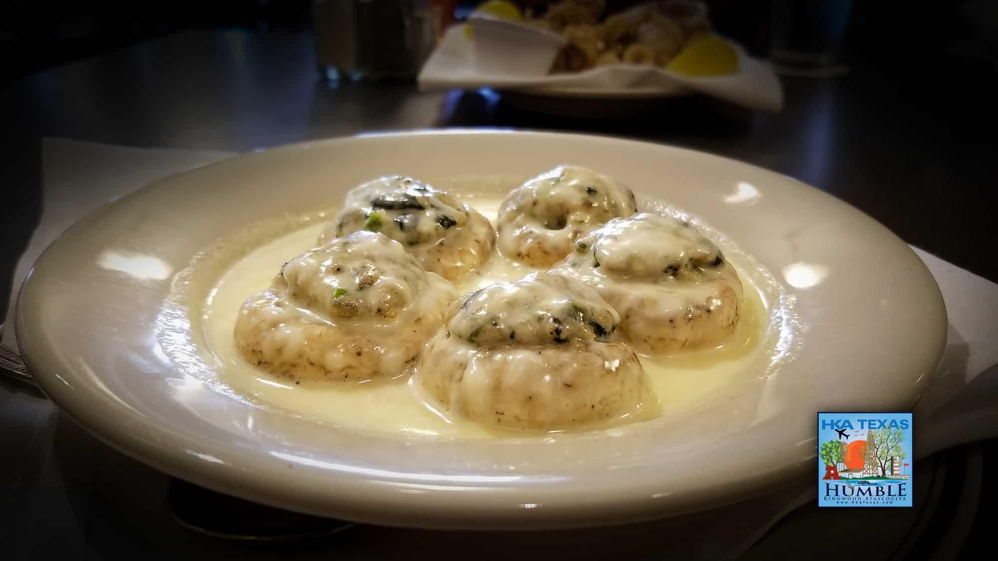 Marsalas Stuffed Mushrooms