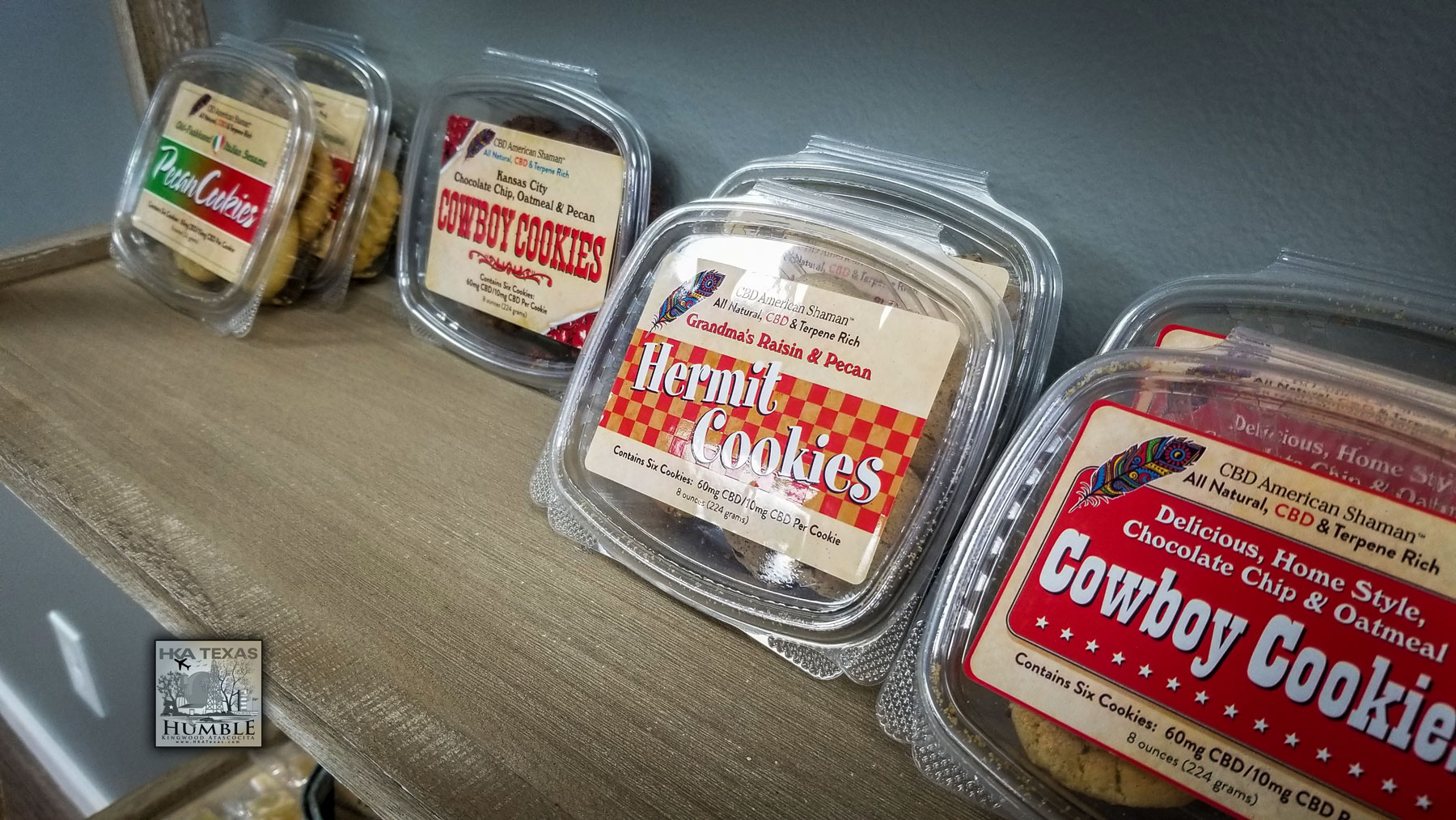 CBD cookies in Humble, Texas