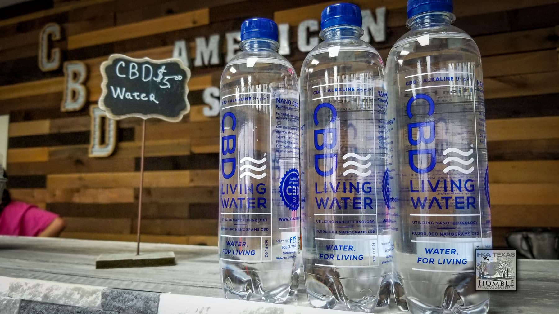 CBD water in Humble, Texas