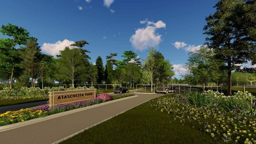 atascocita park entrance rendering