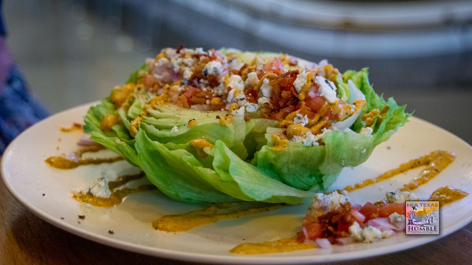 Wedge Salad at Wholesome Kitchen