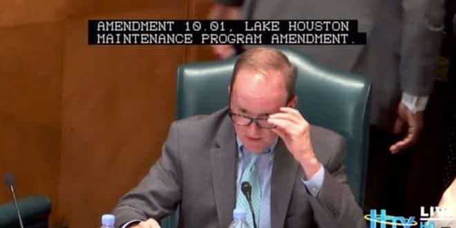 city council - lake houston maintenance program