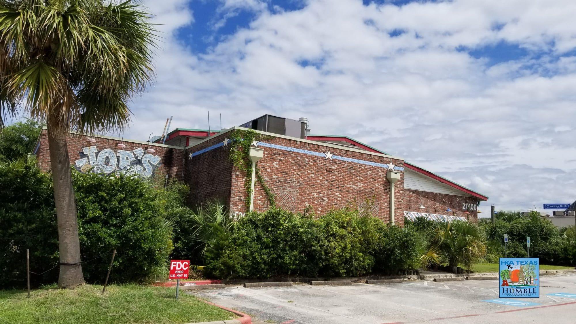 Joe's Crab shack - closed